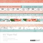 Ooh La La 6 x 6 Paper Pad - KaiserCraft