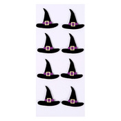Witches Hats Mini Stickers - Little B