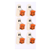 Trick Or Treat Ghosts Mini Stickers - Little B