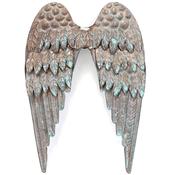 Salvaged Metal Angel's Wings