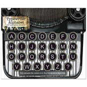 Alphabet - Salvaged Vintage Typewriter Keys