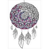 "Dream Catcher - Zenbroidery Stamped Embroidery 10""X16"""