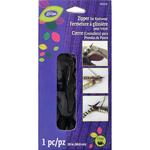 """Black - LoRan Knitwear Zip Fastener 20"""""""