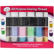 Designer's Choice All Purpose Sewing Thread - 24/Pkg