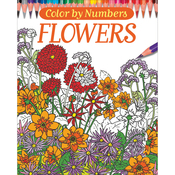 Color By Numbers - Flowers - Chartwell Books