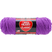 Bright Violet - Red Heart Classic Yarn