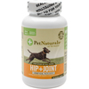 Hip + Joint Tablets For Dogs 60/Pkg Pet Naturals Of Vermont-Hip And Joint Tablets For Dogs. These tablets feature ingredients veterinarians use, in the right balance to provide high quality joint support for dogs of all sizes, breeds and ages. This 4-1/2x2-1/2x2-1/2 inch package contains sixty chewable tablets. Made in USA.