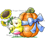 """Autumn Gifts - Whipper Snapper Cling Stamp 4""""X6"""""""