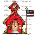 """Schoolhouse Rock - Whipper Snapper Cling Stamp 4""""X6"""""""