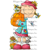 """Mary Kate - Whipper Snapper Cling Stamp 4""""X6"""""""