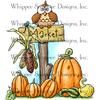 "Harvest Market - Whipper Snapper Cling Stamp 4""X6"""