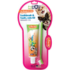Toy Breed/Cat - EZ Dog Pet Dental Kit Triple Pet-EZ Dog Pet Dental Kit: Toy Breed/Cat. Pet dental care is made easy with this toothbrush! Toothpaste is formulated without added sugars and is sweetened with Stevia for a safe and delicious vanilla flavor. This package contains one 5-3/4 inch long pet toothbrush and 2.5oz of pet toothpaste. Dishwasher safe. Comes in a variety of colors. No guarantee of what color you will receive. Made in USA.