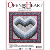 """22""""X22"""" - Open Heart Wall Quilt Kit"""