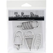 "Cool Treats - Twp Paper Divas Clear Stamps 6""X4.5"""