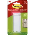1 White Hanger & 2 Strips - Command Large Canvas Hanger 1/Pkg