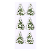 Snow Covered Trees Mini Stickers - Little B