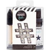 Faux Zinc - Heidi Swapp Marquee Love Distress Paint Kit