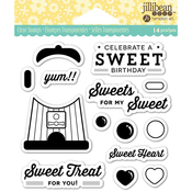 "Sweet Treat - Jillibean Soup Clear Stamps 4""X4"""