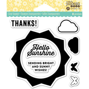 "Sunshine - Jillibean Soup Clear Stamps 4""X4"""