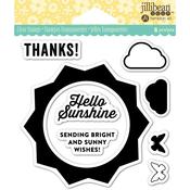 "Sunshine - Jillibean Soup Clear Stamps 4""X4"""