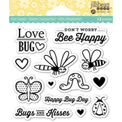 "Love Bug - Jillibean Soup Clear Stamps 4""X4"""