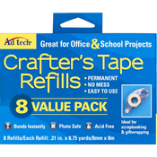 Value Pack - Crafter's Tape Refills 8/Pkg