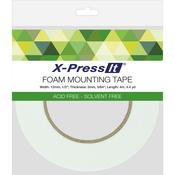 """.5""""X4.4yd - X-Press It Double-Sided Foam Tape 12mm"""