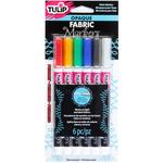 Primary - Tulip Opaque Fabric Markers 6/Pkg