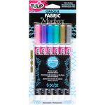 Bright - Tulip Opaque Fabric Markers 6/Pkg