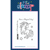 "Magical Unicorn - Your Next Stamp Clear Stamps 3""X4"""