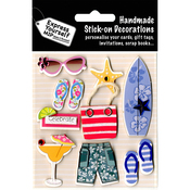 Beach Accessories - Express Yourself MIP 3D Stickers