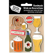 Cheers Beer! - Express Yourself MIP 3D Stickers
