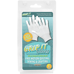 Large - Grip Gloves For Free Motion Quilting