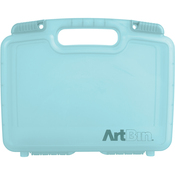 "12""X3.25""X9.875"" Aqua Mist - ArtBin Quick View Deep Base Carrying Case"