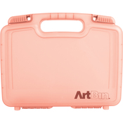 """12""""X3.25""""X9.875"""" Coral - ArtBin Quick View Deep Base Carrying Case"""