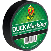 "Black - Duck Masking Tape .94""X30yd"