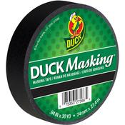 "Black - Duck Masking Tape .94""X30yd"