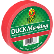 "Red - Duck Masking Tape .94""X30yd"