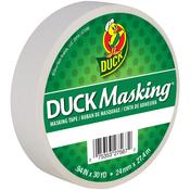 "White - Duck Masking Tape .94""X30yd"