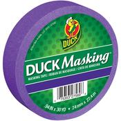 "Purple - Duck Masking Tape .94""X30yd"