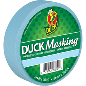 "Light Blue - Duck Masking Tape .94""X30yd"