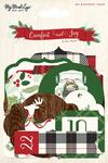 Comfort & Joy Advent Tags - My Minds Eye