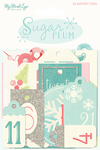 Sugar Plum Advent Tags - My Minds Eye