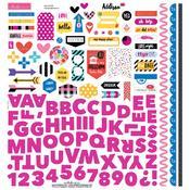 Addison Fundamentals Sticker Sheet - Bella Blvd