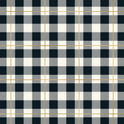 plaid please foiled paper yes please
