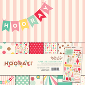 Hooray Paper & Accessories Kit - My Minds Eye