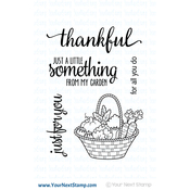 """From My Garden - Your Next Stamp Clear Stamps 3""""X4"""""""