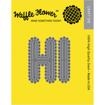Jumber Letter H And I - Waffle Flower Die