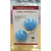 Dryer Balls Innovative Home Creations-Dryer Balls. These reusable dryer balls soften your clothes without chemicals. They help dry clothes faster, while leaving them ultra-soft and fluffy. This 8-1/2x6x2- 1/2 inch package contains two dryer balls. Non-toxic. Imported.