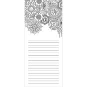 "Glam - Coloring Notepad 4""X9"" 40 Sheets"